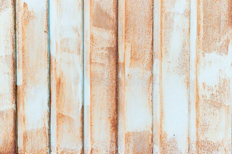 生锈的金属被构造的,老金属铁铁锈背景和纹理,金属腐蚀了纹理,生锈的金属背景 库存照片