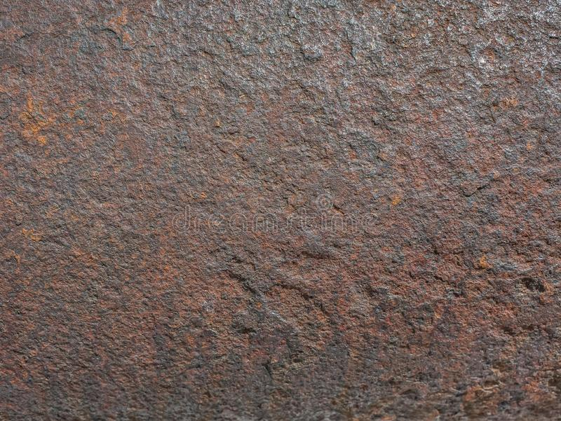 生锈的钢板 免版税库存照片