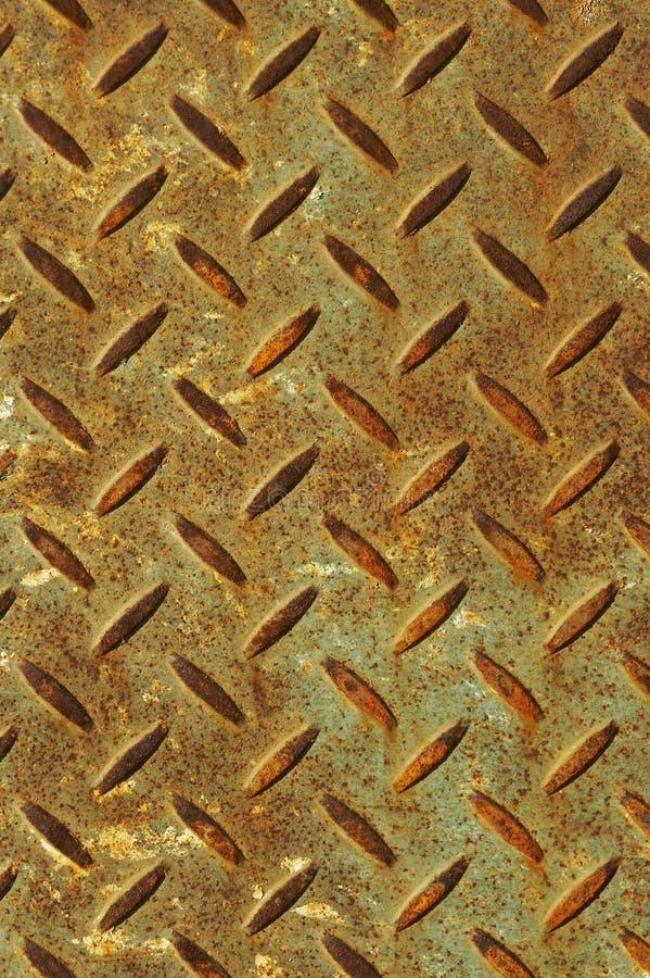 生锈的钢 免版税库存照片