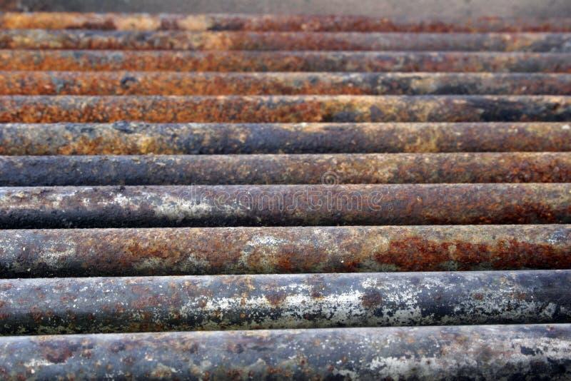 生锈的钢 免版税库存图片