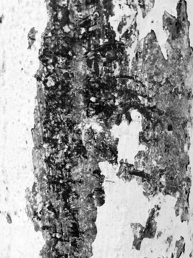 生锈的铁,老金属表面上的破裂的油漆,生锈的金属板料纹理与破裂和片状油漆的 免版税库存图片