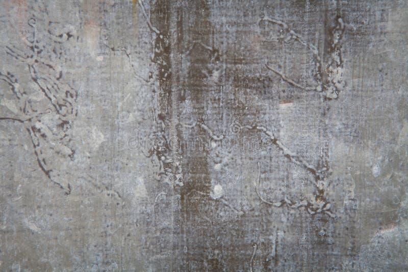 生锈的锌纹理 免版税库存图片
