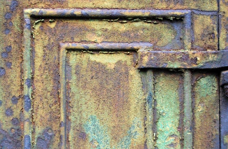 生锈的门 免版税图库摄影