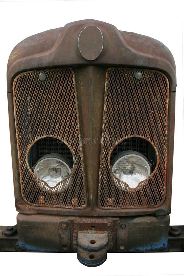 生锈老的幅射器 库存图片
