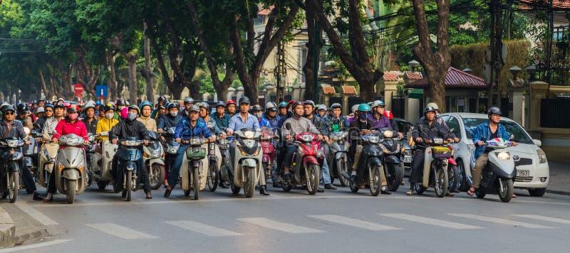 生活在越南 库存图片
