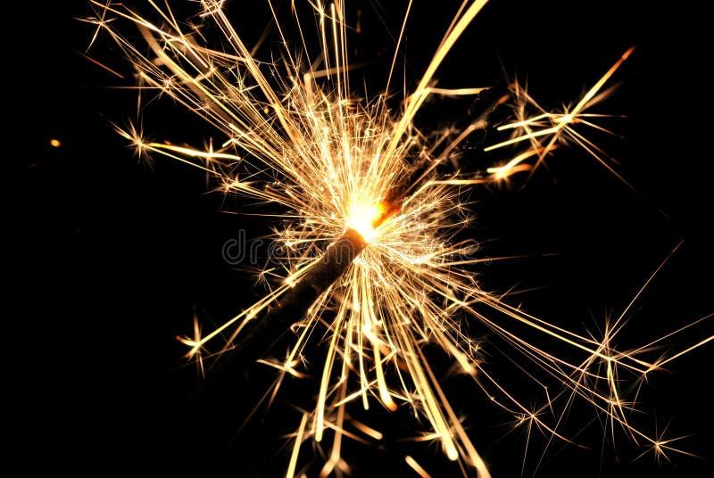 生活的闪烁发光物庆祝 库存图片