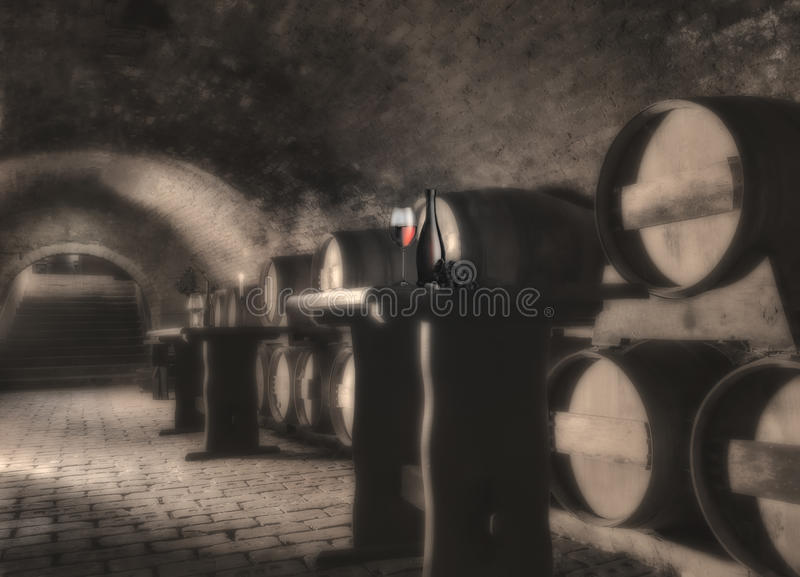 生活红色不起泡的酒 免版税库存图片