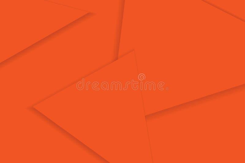 用三角几何形状做的抽象背景样式 库存例证