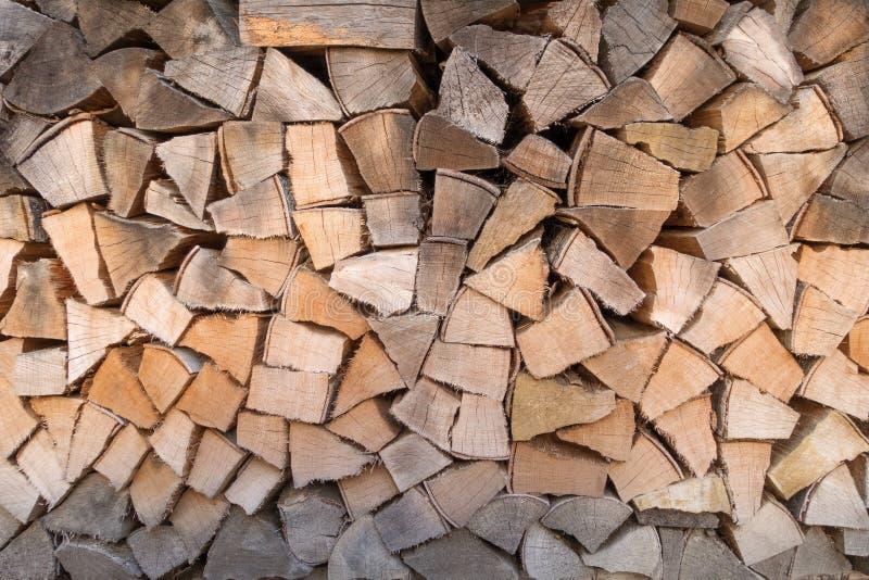 用不同的颜色树荫的柴堆 免版税图库摄影
