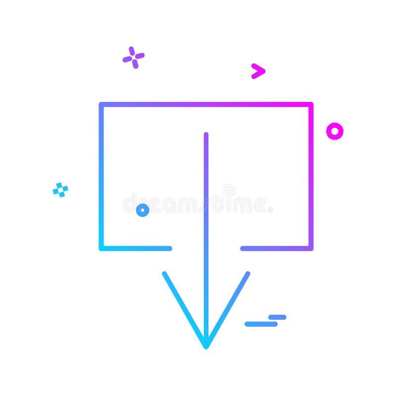 用户界面象设计传染媒介 库存例证
