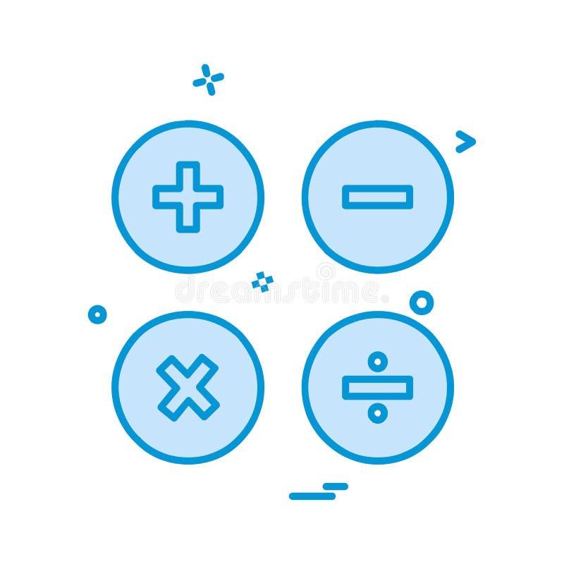 用户界面象设计传染媒介 向量例证