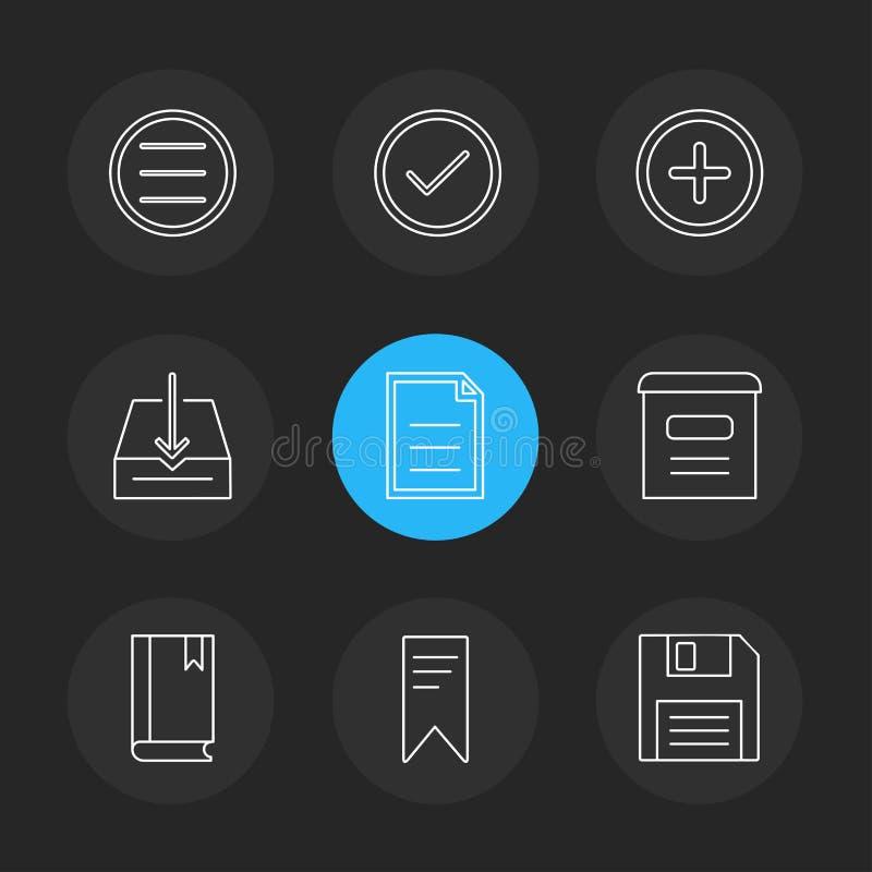 用户界面,按钮,应用,多媒体, eps象 向量例证