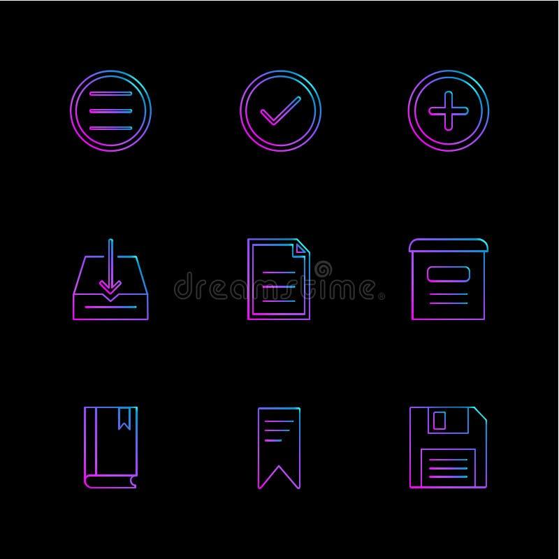 用户界面,按钮,应用,多媒体, eps象 皇族释放例证
