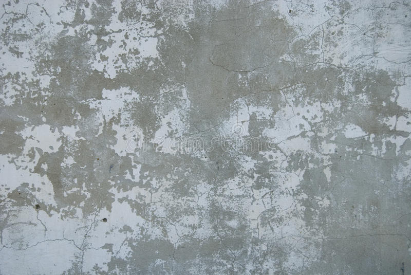 用水泥涂墙壁 库存图片