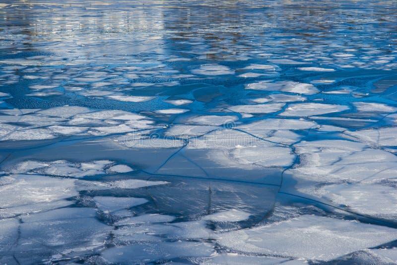 河冰 库存照片
