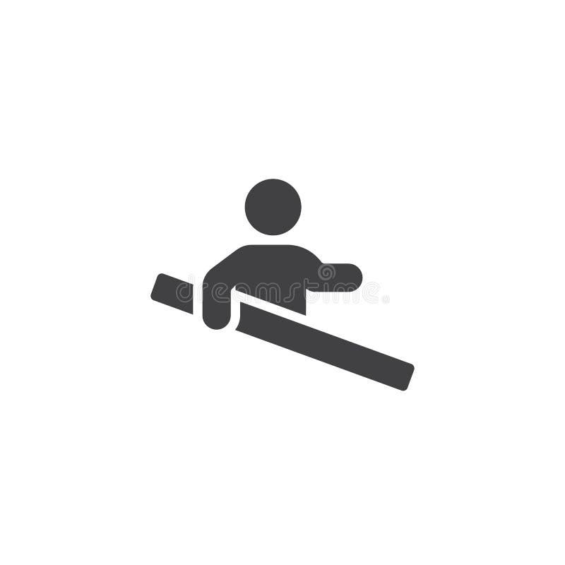 用途扶手栏杆导航象 皇族释放例证