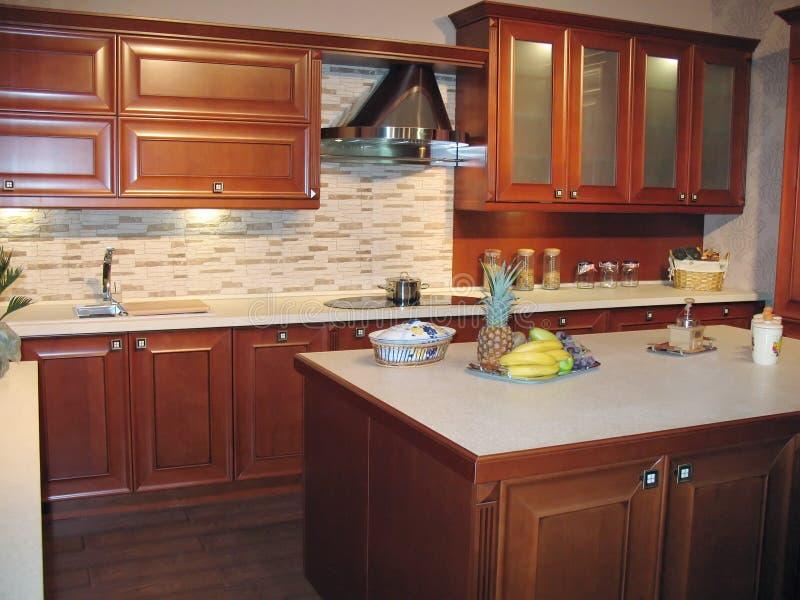 用餐厨房空间 免版税库存图片