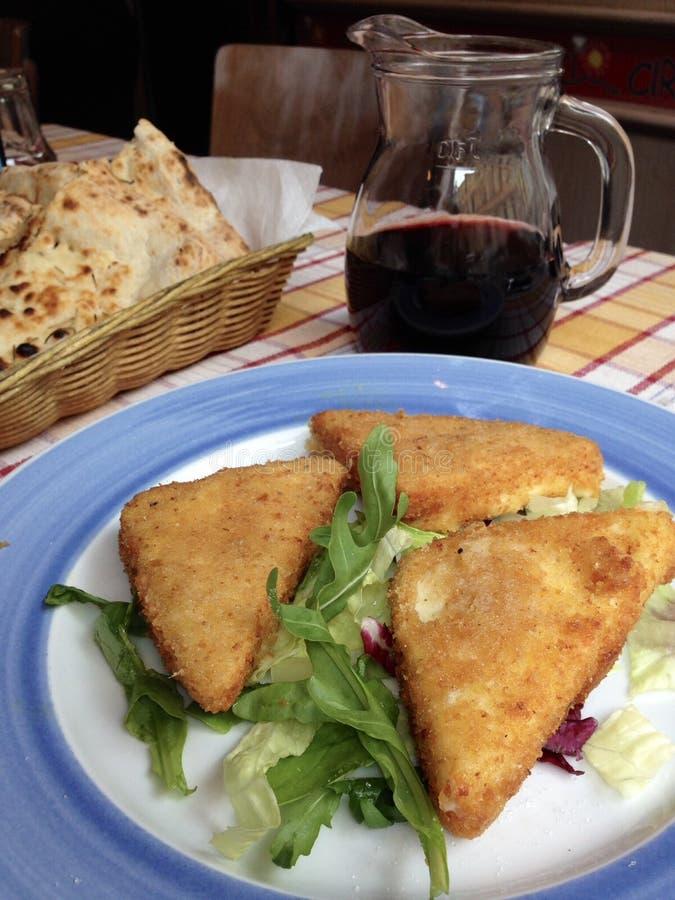 用餐在罗马 免版税图库摄影