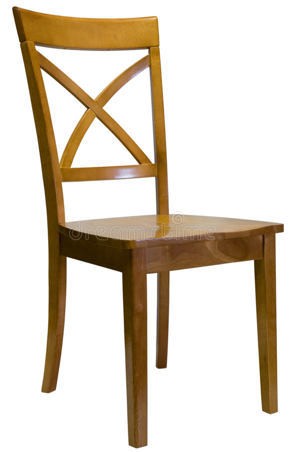 用餐槭树空间的椅子 库存图片