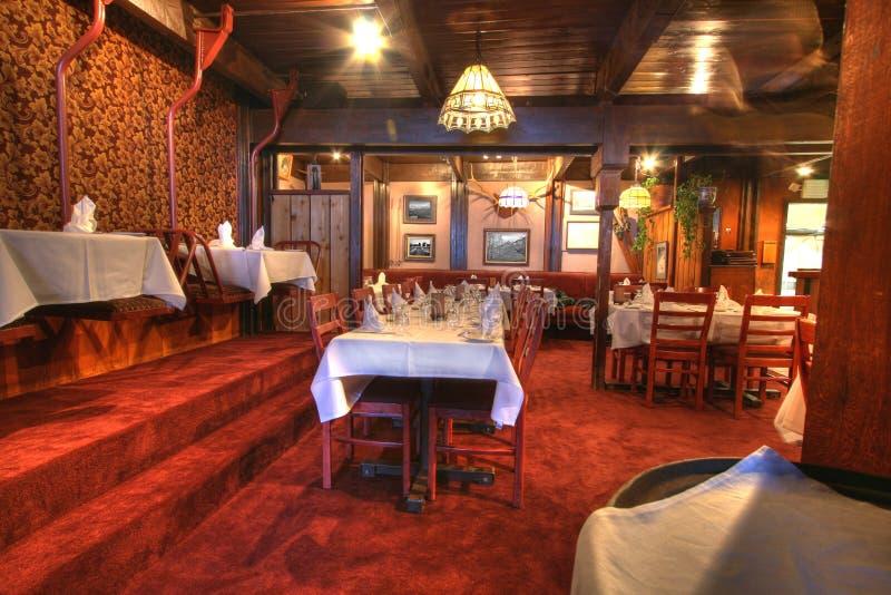 用餐细致的餐馆 图库摄影
