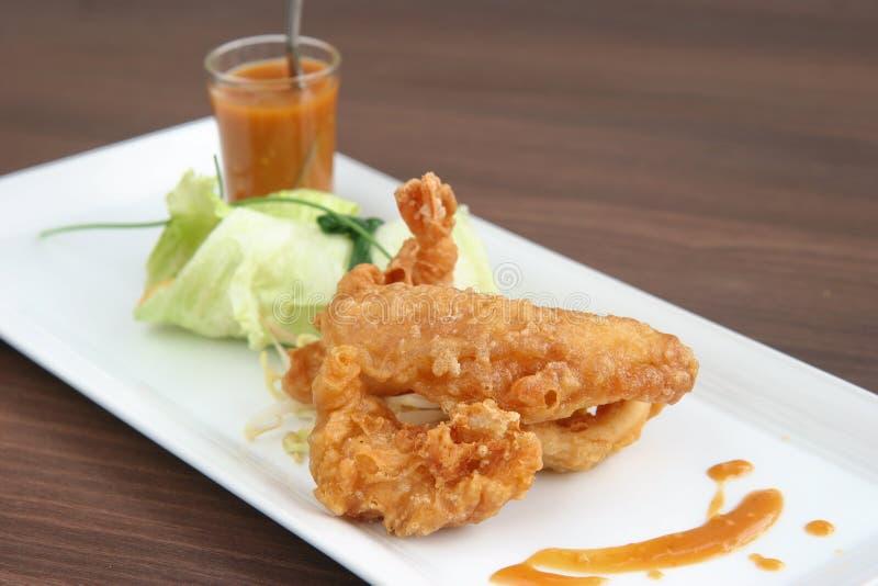 用餐细致的马来的pasambur rojak 库存图片