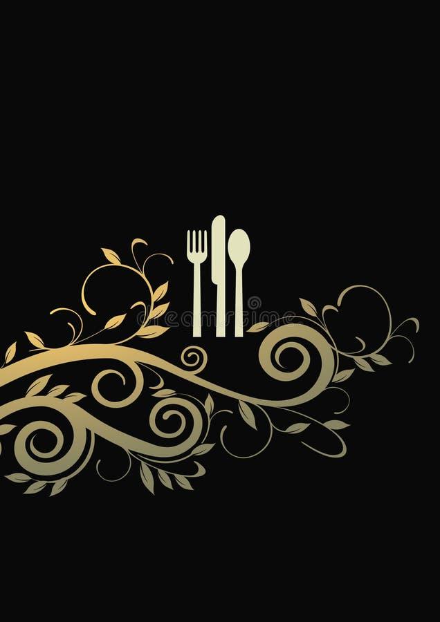 Download 用餐la的购物车 向量例证. 插画 包括有 标签, 看板卡, 用餐, 植物群, 高雅, 菜单, 经典, 传统 - 15679342