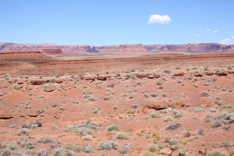 田园诗风景在犹他,美国 图库摄影