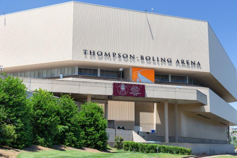 田纳西大学的汤普森煮沸的竞技场 免版税库存图片