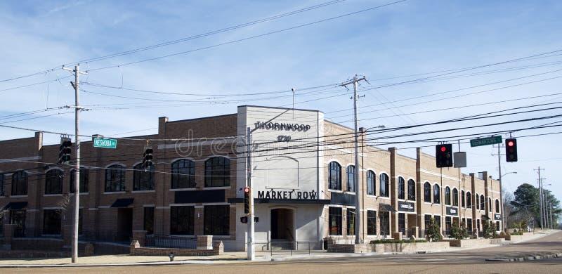 田纳西州桑伍德日耳曼敦集市 库存照片