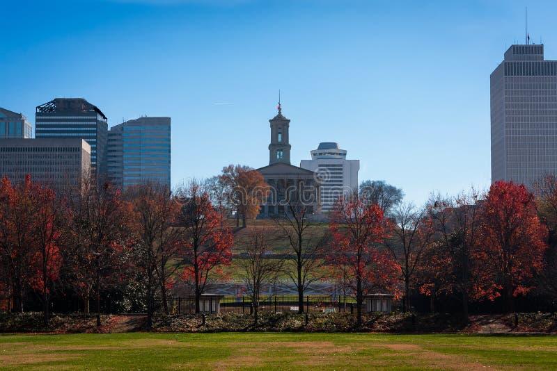 田纳西首都大厦 免版税库存照片
