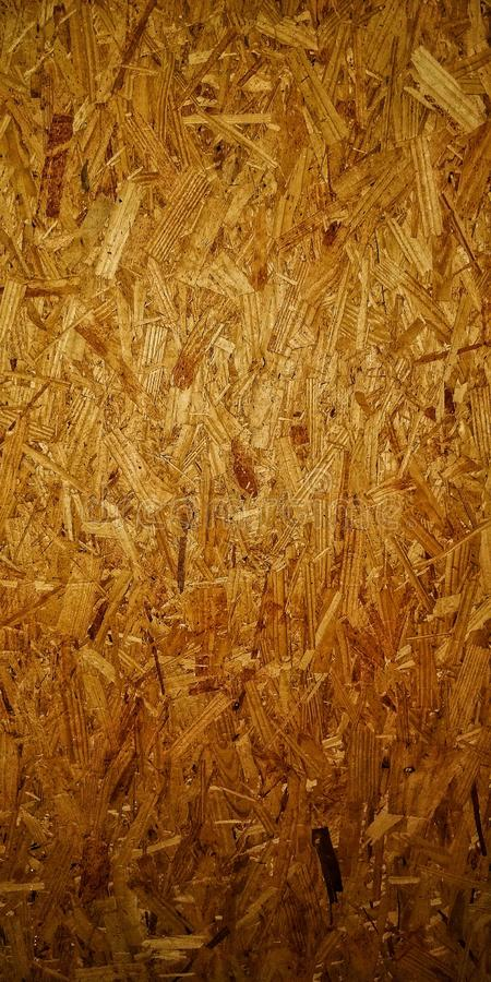 由木小块做的纸板 免版税图库摄影