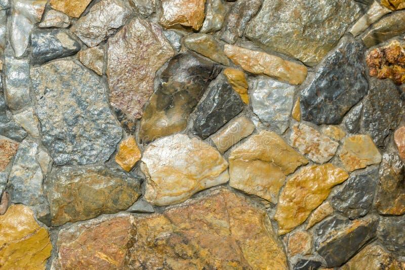 由石头做的墙壁 库存图片