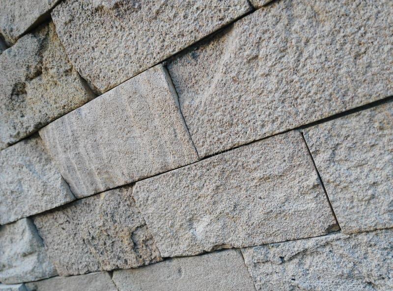 由砖的砖 免版税库存照片