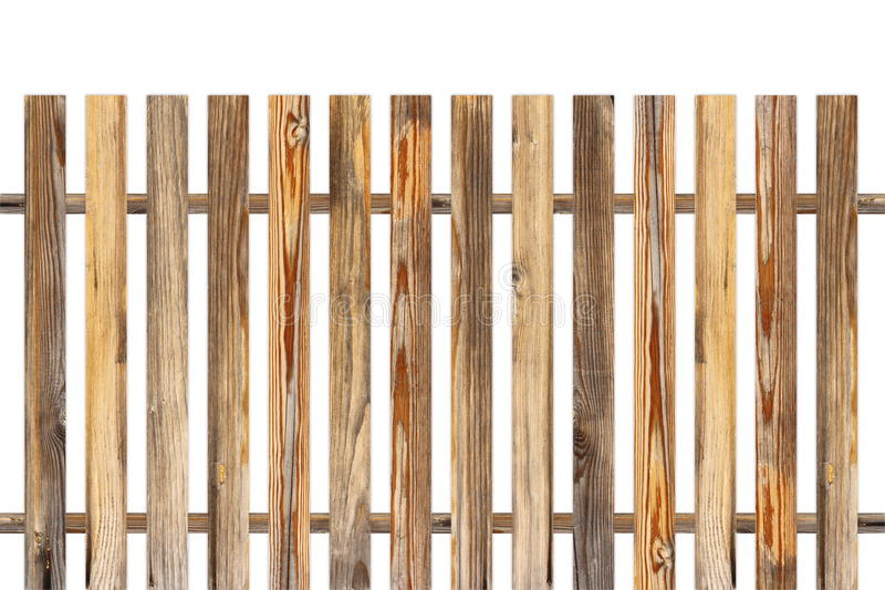 由老板条做的木篱芭 库存照片