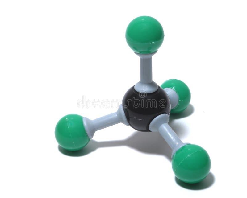 甲烷tetrachloryl 免版税库存图片