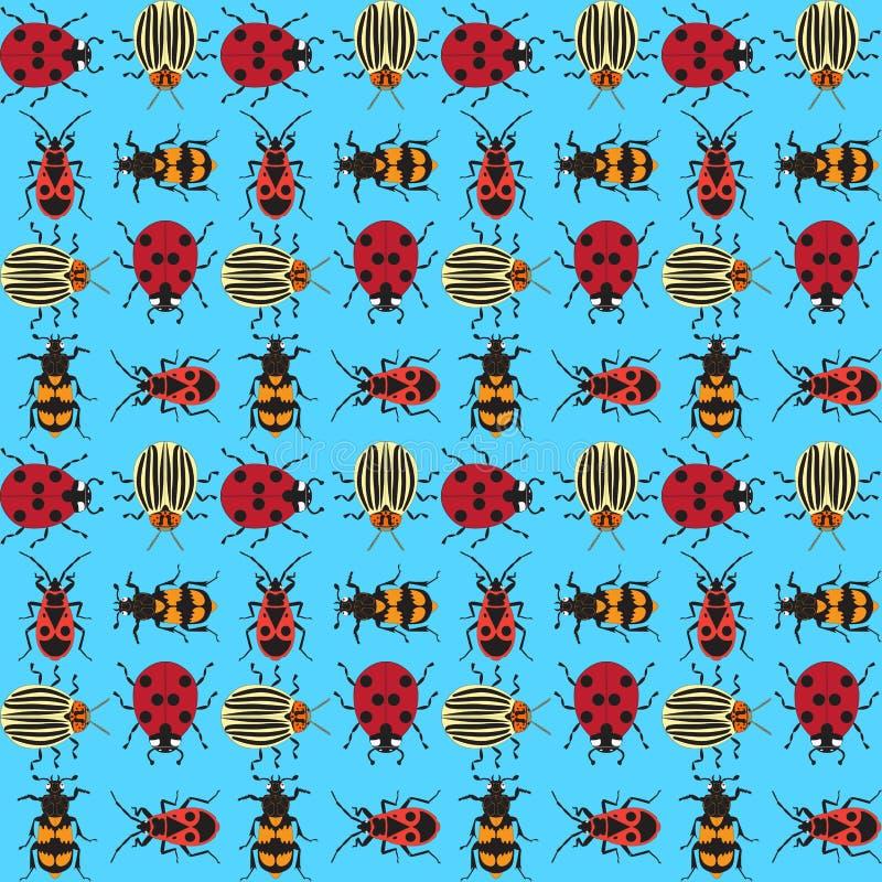 甲虫background_6 皇族释放例证