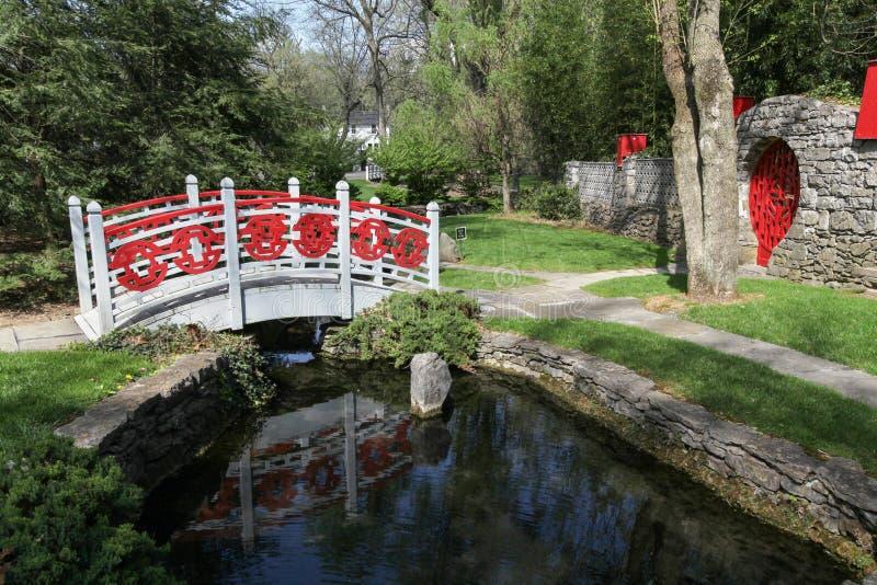 申南多亚谷中国人庭院VA的博物馆 免版税图库摄影