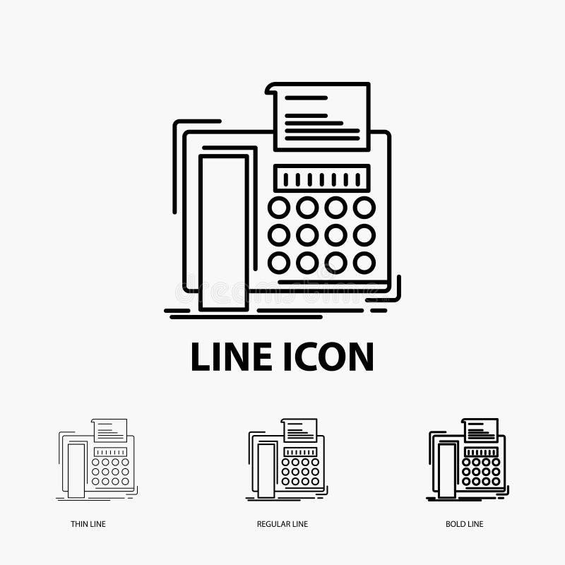 电传,消息,电话,电传,在稀薄,规则和大胆的线型的通信象 r 皇族释放例证