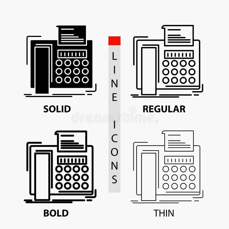 电传,消息,电话,电传,在稀薄,规则,大胆的线和纵的沟纹样式的通信象 r 皇族释放例证