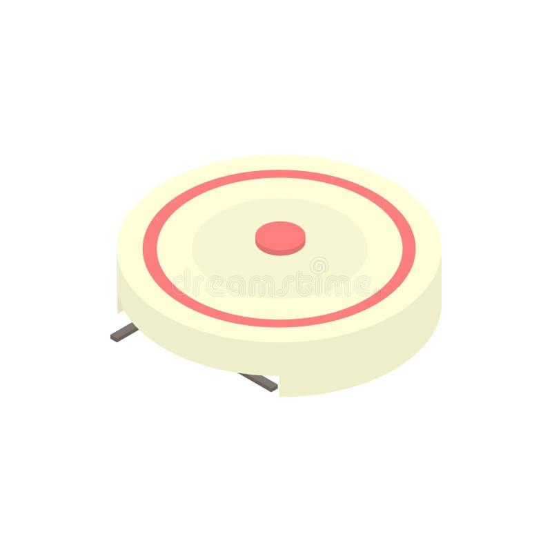 电便携式的火炉象,动画片样式 向量例证