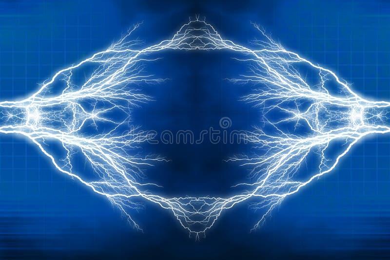 电光线影响 库存例证