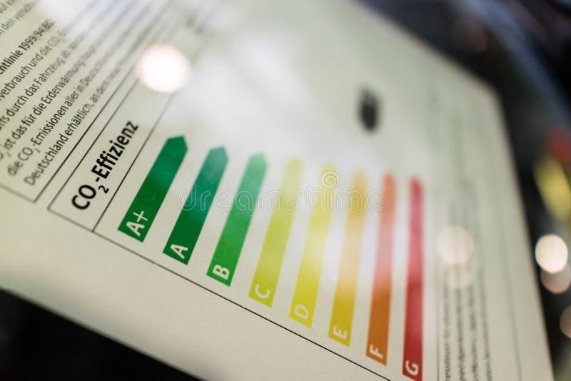 电力消费的能量证明 免版税库存图片
