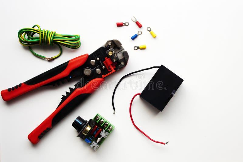 电动元件的选择 图库摄影