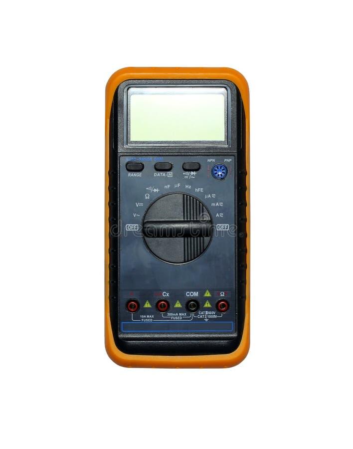 电压测量设备 库存图片