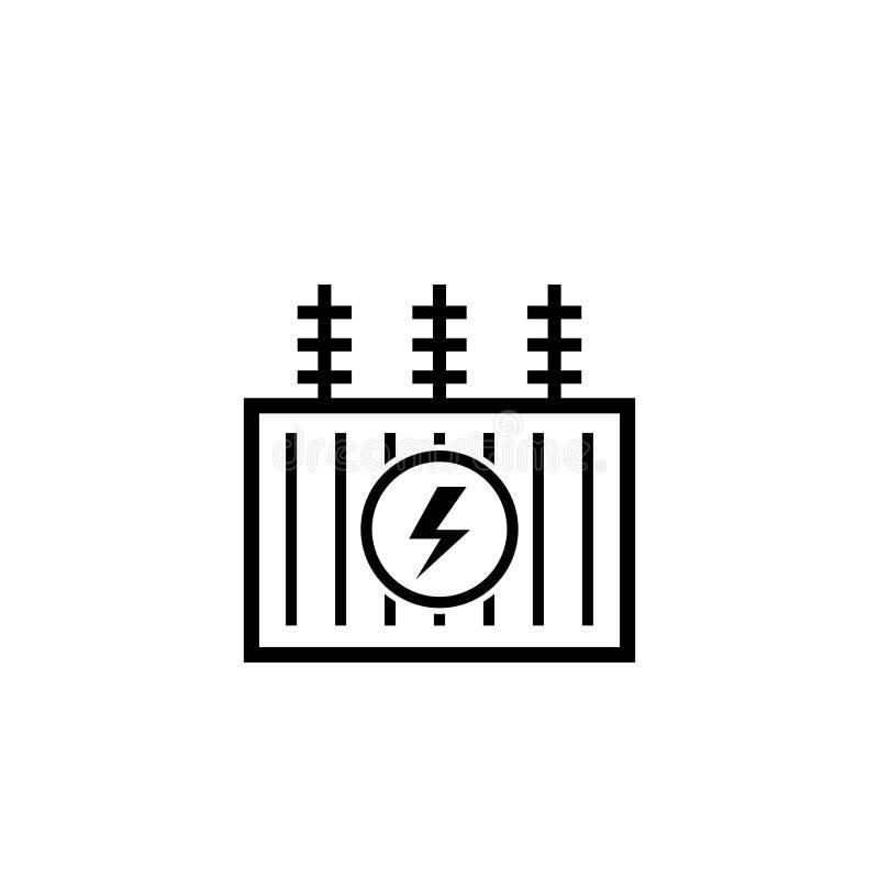 电变压器概述象 皇族释放例证