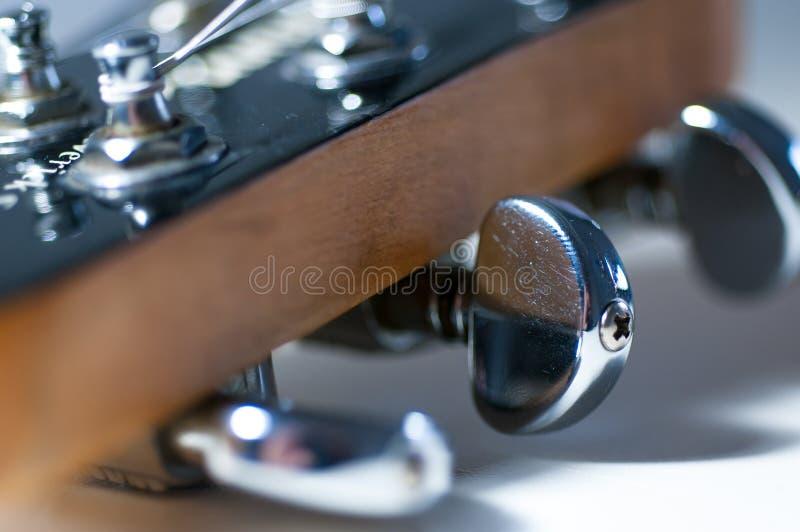 电吉他条频器 库存照片