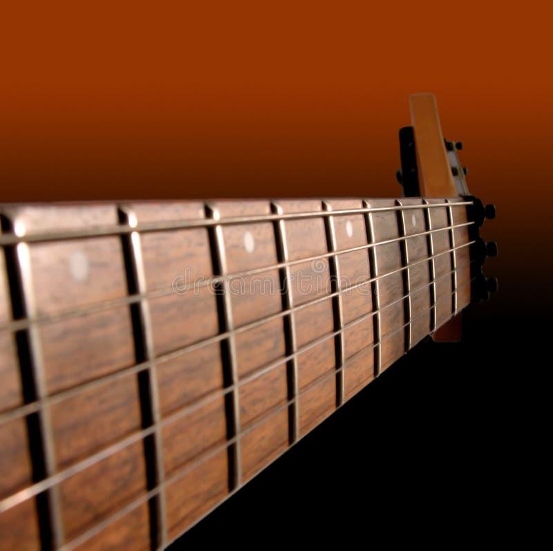 电吉他脖子 库存照片