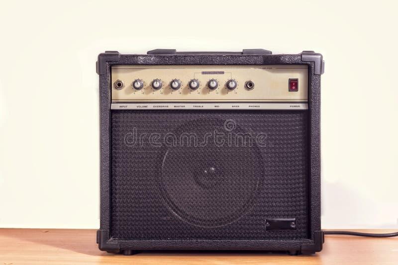 电吉他放大器 库存图片