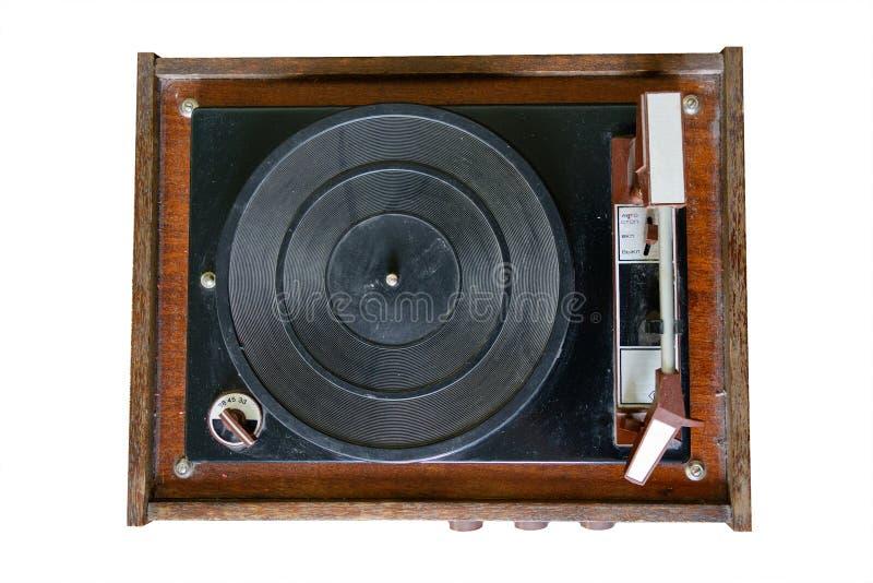 电唱机 库存图片