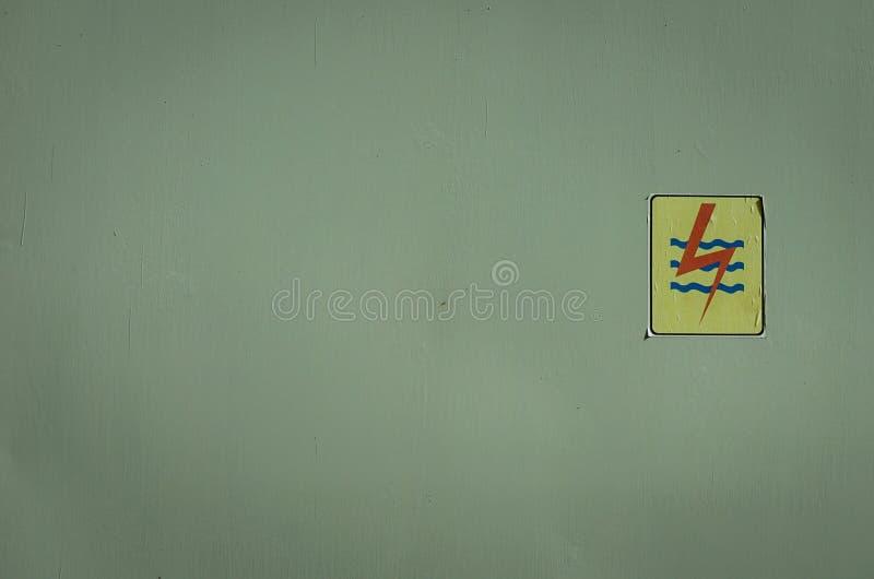 电在三宝垄拍的箱子照片印度尼西亚 库存照片